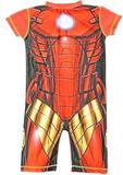 Pojkar Marvel karaktär Iron Man UV 50 + skydd stra