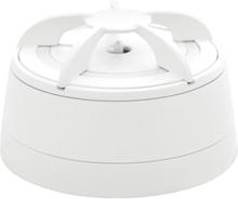 Cavius värmevarnare, trådlös, batteri, vit