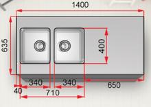 Stala Diskbänk Seven A1400-VB0040E