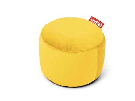 Point Velvet Sittpuff Maize yellow 50 x 35 cm