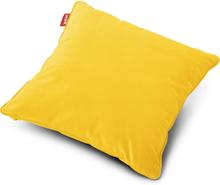 Square Velvet Prydnadskudde Maize yellow 50 x 50 cm