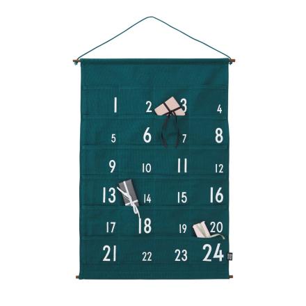 Design Letters -joulukalenteri vihreä