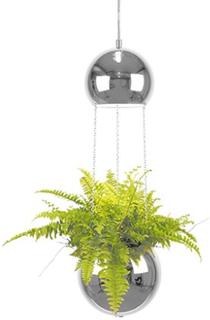 Globen Lighting Pendel Mini Planter Krom