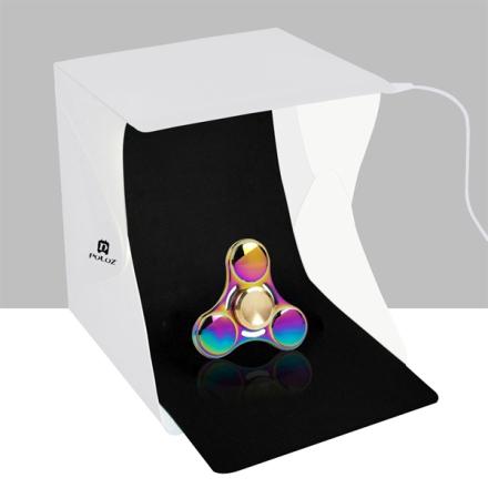 Mini Fotostudio med dagsbelysning - 2 bakgrunner