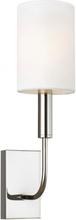 Brianna 1 Væglampe H35,9 cm 1 x E14 - Poleret nikkel