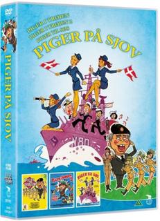 Piger på sjov - Piger I Trøjen // Piger Til Søs // Piger I Trøjen 2 - DVD