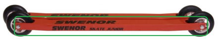 Swenor Skate Junior ramme