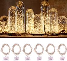 Valonauha / Led-nauha kuparilanka- 2m lämmin valkoinen valo