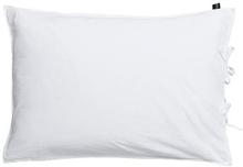 Pudebetræk - 100% Bomuldsatin - Hvid - 70x100 cm