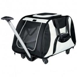Hunde- og kattetrolley transportkasse og taske