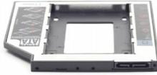 """Gembird MF-95-01 - Uttagbar harddiskramme - fra 5,25"""" Slim Line til 2,5"""""""