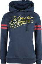 Wonder Woman - Logo -Hettegenser - blå