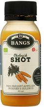 Bangs Øko Ingefærshot med appelsin, ingefær og gulerod 0,06 l