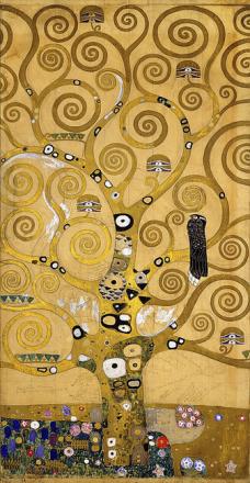 Klimt, Gustav - The Tree of Life Tapetit / tapetti 100 x 100 cm