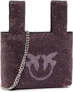 Handväska PINKO - Gray Bag PE 20 PLTT 1P21NE Y66C Light Pink Q19