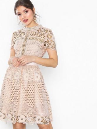 By Malina Flower Emily dress Skater Dresses