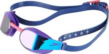 speedo Fastskin Elite Mirror Svømmebriller, violet/blue mirror 2019 Svømmebriller