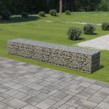 Gabion med topp- og bunnlokk galvanisert stål 300x50x50 cm