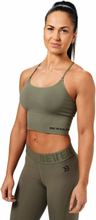 Better Bodies Astoria Seamless Bra, wash green, large Toppar dam