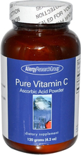 Pure Vitamin C Powder (120 g) - Allergy Research Group