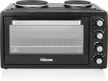 Tristar Varmluftsugn med 2 kokplattor OV-1443 3100 W 38 L