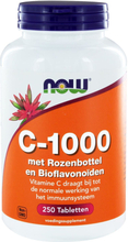 Now Foods, C-1000 mit Hagebutten & BioFlavonoide, 250 Tabletten