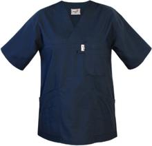 Tunika för vården V-ringad Marinblå