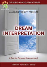 Dream interpretation - A Tool For Personal Empowerment