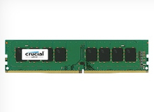 Crucial - DDR4 - 16 GB - DIMM 288-pin - 2133 MHz / PC4-17000 - CL15 - 1.2 V - ej buffrad - icke ECC