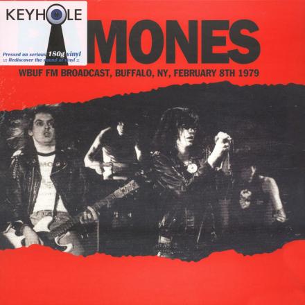 Ramones - WBUF FM Broadcast, Buffalo, NY, Febuary 8th 1979 - Vinyl