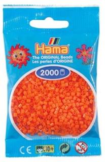 Hama Mini Perler Orange