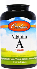 Carlson Labs, Vitamin A, 25.000 IU 250 Softgels
