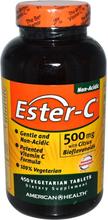 Ester-C with Citrus Bioflavonoids 500 mg (450 Veggie Tabs) - American Health