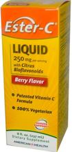 Ester-C Flüssigkeit mit Zitrus-Bioflavonoide (237 ml) - American Health
