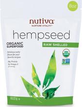 Nutiva, Bio Hanfsamen, roh geschält, 8 Unzen (227 g)