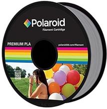 Polaroid 1Kg Universal Premium PLA Filament Material Silver