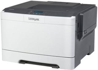 Lexmark CS317dn - Skriver - farge - Dupleks - laser - A4/Legal - 1200 x 1200 dpi - inntil 23 spm (mono) / inntil 23 spm (farge) - kapasitet: 250 ark
