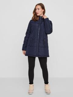 MAMA.LICIOUS 3-i-1 Jacket Kvinna Blå