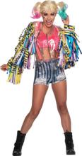 Harley Quinn Birds of Prey kostume - kvinde - L