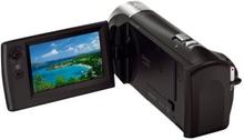Sony Handycam HDR-CX240E - Videoopptaker - 1080 p - 2.51 MP - 27optisk x-zoom - Carl Zeiss - flashkort - svart
