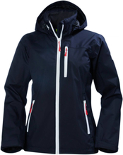 Crew Hooded Jacket Women's Navy L