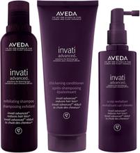 Aveda Set Invati Advanced Shampoo + Conditioner + Haarkur
