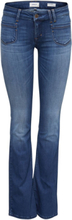 ONLY Onlnew Ebba Low Flared Flared Jeans Women Blue