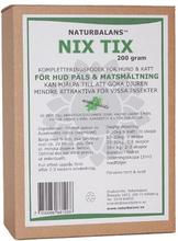 Nix Tix, Naturbalans