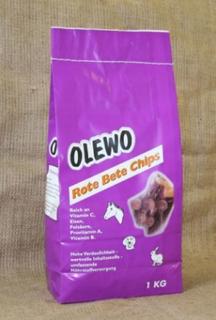 Olewo Rödbetschips