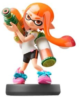 Nintendo amiibo Inkling - Super Smash Bros. Collection - extra videospelfigur - för New Nintendo 3DS, New Nintendo 3DS XL; Nintendo Wii U