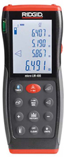 Ridgid LM-400 Lasermätare med överlagring via Bluetooth