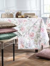 Tischläufer ca. 50x150 cm Hossner rosé