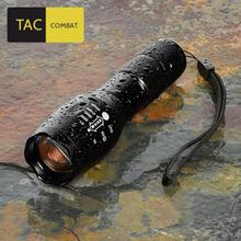 TAC Combat 1600 Lumen Taschenlampe