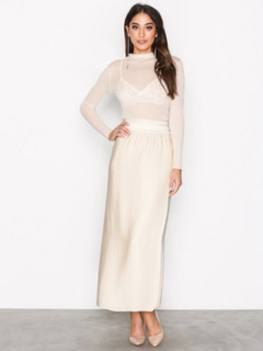 Filippa K Floaty Maxi Skirt Maxikjolar Bone